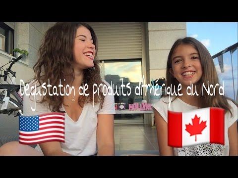 Degustation Americaine et Canadienne