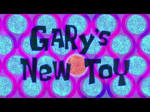 Spongebob SquarePants: Gary's new toy (MUSIC ONLY)