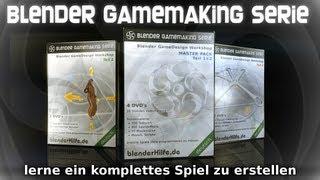 Die grosse Blender GameMaking Serie (blender 3d tutorial deutsch)