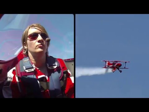 Lauren Richardson Pitts Special Aerobatics - Shoreham Airshow August 22 2015