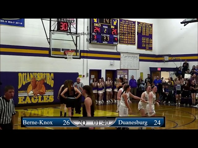 Game Highlights Girls' Varsity: Berne-Knox vs Duanesburg