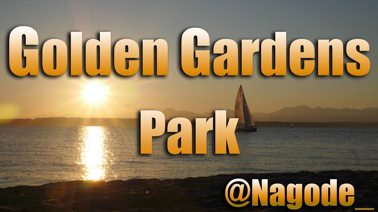 Golden Gardens Park, Seattle Washington. - YouTube