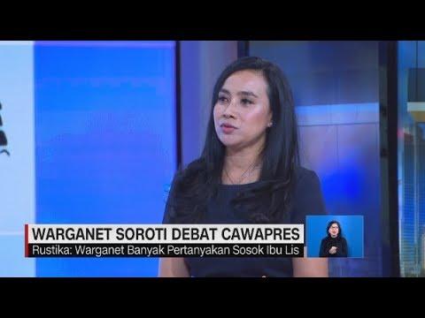 Warganet Soroti Debat Cawapres; Pertanyakan Sosok Ibu Lis