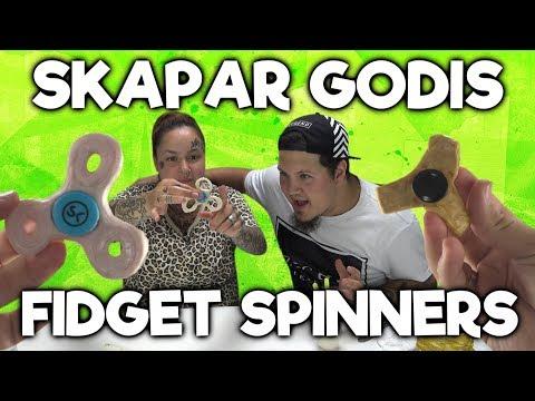 Skapar Fidget Spinner i Godis