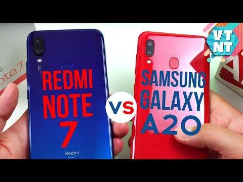 Samsung Galaxy A20  Vs Xiaomi Redmi Note 7 Сравнение. Какой выбрать?