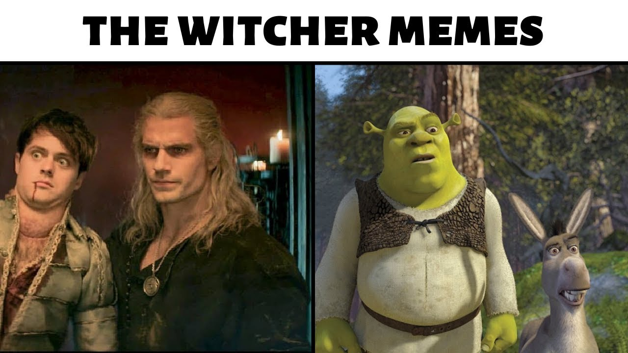 The Witcher Meme Compilation Youtube