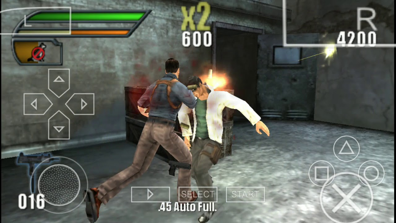 120MB   Dead To Rights 2 Reckoning Full Game Highly Compressed PPSSPP  Settings + Gameplay