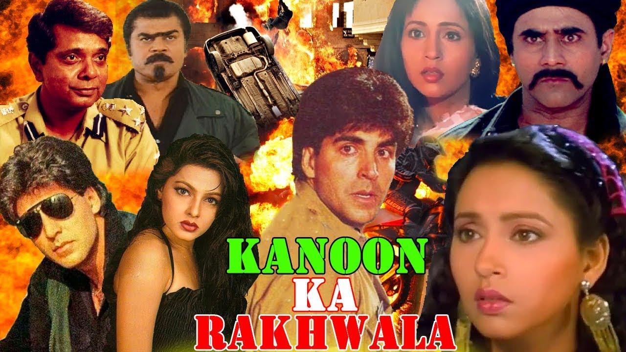 Download Kanoon Ka Rakhwala (1993) Hindi Action Movie   Akshay Kumar, Mamta Kulkarni, Ashwini Bhave    PV