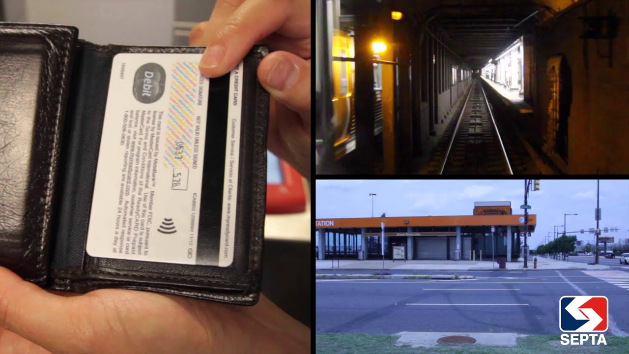 can you use septa key card at atm