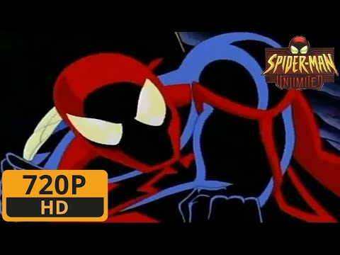 Spider-Man VS Venom And Carnage - Spider-Man Unlimited Cartoon Clip