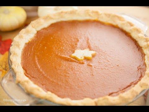 Vegan Pumpkin Pie (Dairy-free) | Simply Bakings