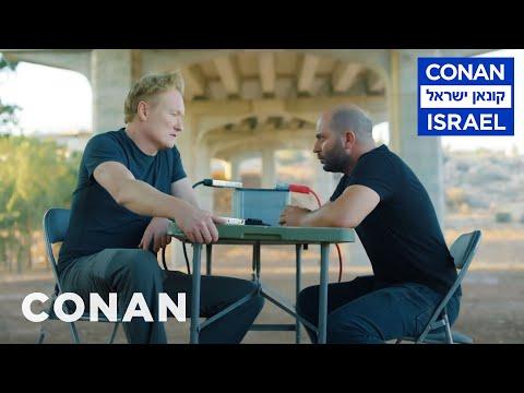 "Conan Interrogates The Star Of ""Fauda""  - CONAN On TBS"