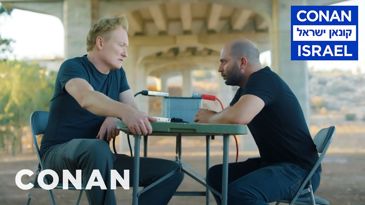 "Download Conan Interrogates The Star Of ""Fauda""   CONAN on TBS"