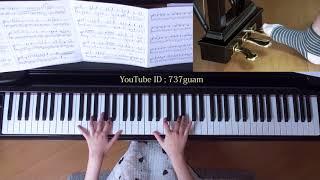 使用楽譜;ぷりんと楽譜・上級(採譜者:渋谷絵梨香) 月刊Pianoプレミ...