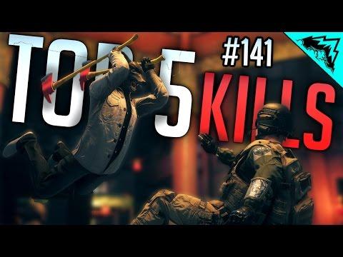 Top 5 Battlefield Hardline EPIC Kills (Sniping, Motorcycle Launch, Shotgun Feed) WBCW #141