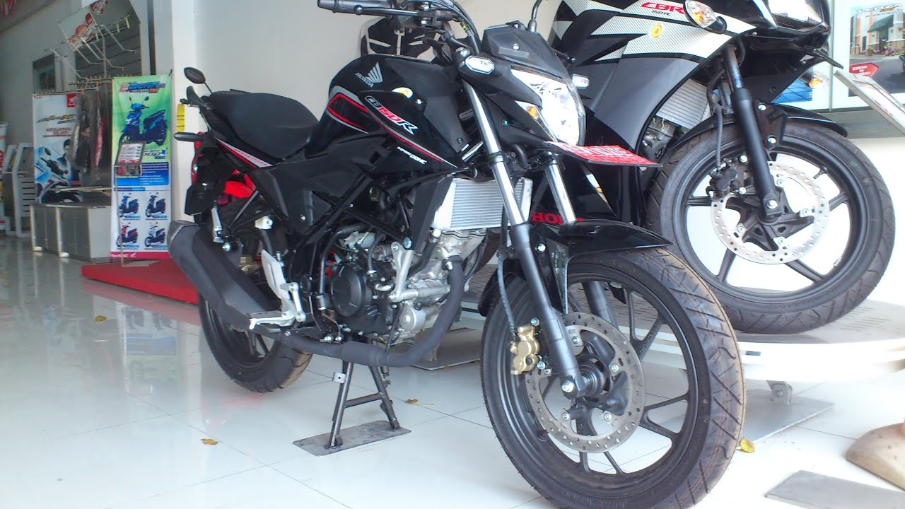 honda cb 150r facelift hitam ( macho black) - youtube