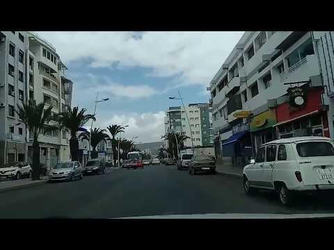 Balade à Agadir au Maroc 28/04/2017  جولة بمدينة أكادير المغربية