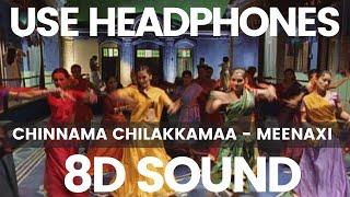 Chinnamma Chilakkamma   Meenaxi   A R Rahman   S Singh   8D Records   8D Songs