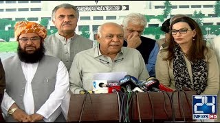 Senate Opposition Leaders Press Conference on New Chairman