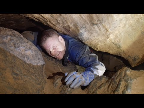 More Extreme Caving in Burrington Combe - Lionel's Hole