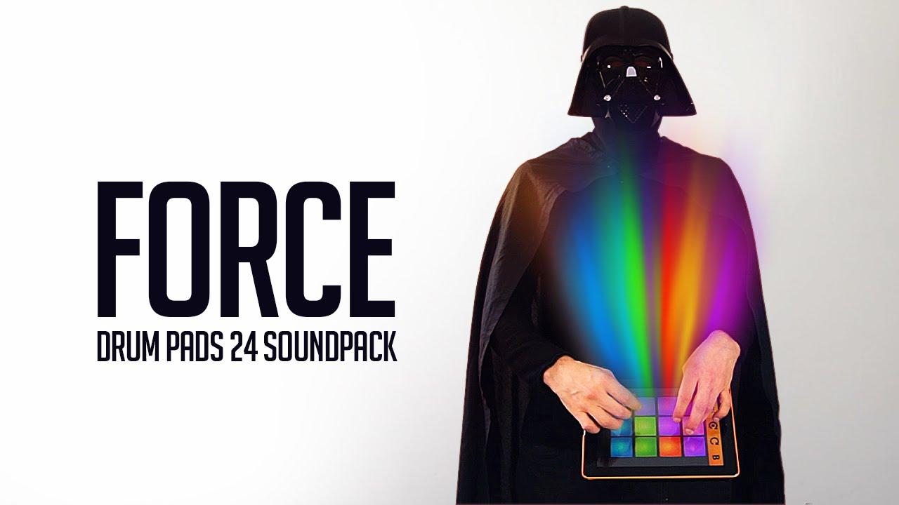 drum pads 24 force youtube. Black Bedroom Furniture Sets. Home Design Ideas
