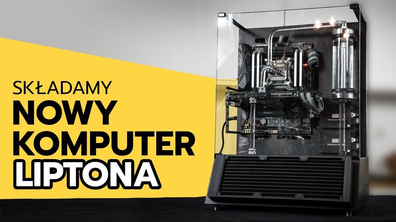 Montaż unikatowego komputera – Silver STRIX