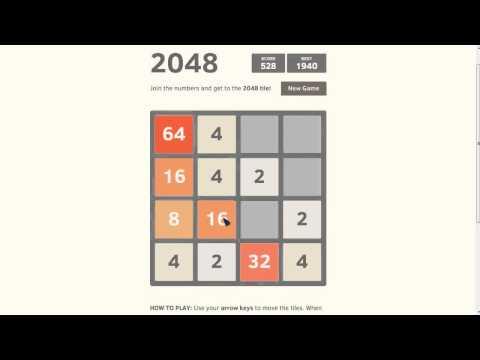 Игра 2048 на Компьютер!