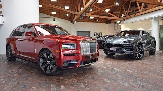 Download Doug DeMuro Compares the Rolls-Royce Cullinan and the Lamborghini Urus for the First Time Mp3 and Videos