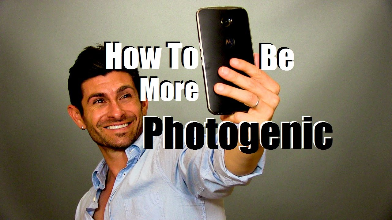How to look good in photos for guys