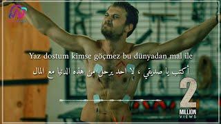 اغنية مسلسل الحفرة الحلقة 12 الموسم 4 مترجمة - اكتب يا صديقي - Barış Manço - Yaz Dostum