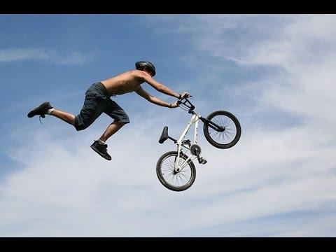 приколы на велосипедах -