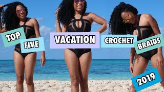 2019 TOP CROCHET HAIRS FOR BEACHES, CRUISES, SWIMMING, VACATIONING LIA LAVON