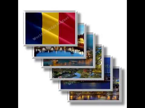 TD - Travels in CHAD - rectangular magnets and souvenirs