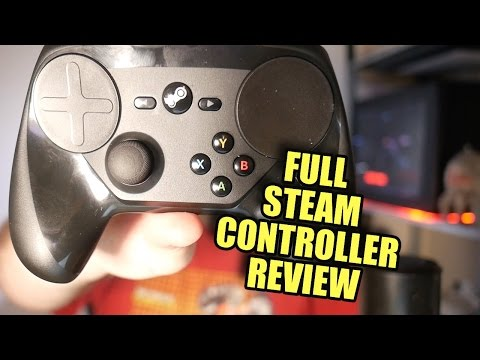 Steam Controller Review + Gameplay in Multiple Games
