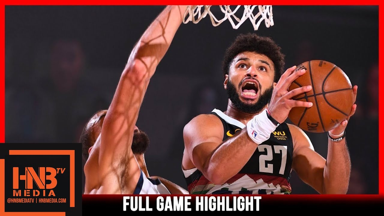 Jazz vs Nuggets Game 5 8.25.20
