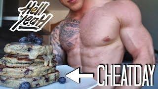 GESUNDER FITNESS CHEATDAY - ob das schmeckt?🍩😎 - Schmale Schulter