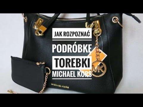 80ab633ac98ff Jak rozpoznać podróbkę torebki Michael Kors   How to spot fake ...
