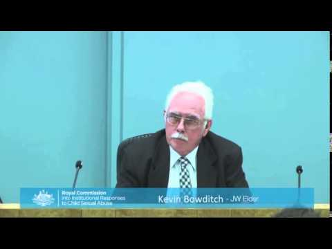 Shocking clip Jehovah's Witnesses Investigation July 28 2015 Australia Royal commission