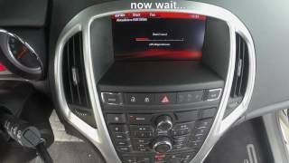 OPEL / VAUXHALL - Navi 950 Intellilink - Navi 650 - Map Update Installation