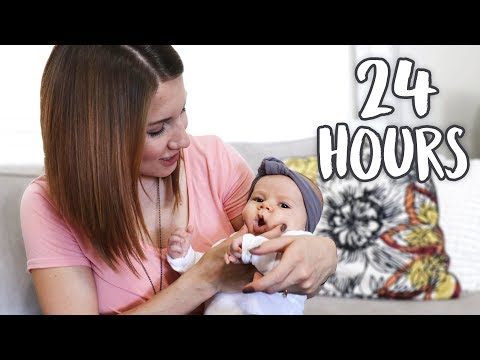 24 HOURS with a 3 MONTH OLD