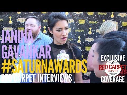 Janina Gavankar #StarWarsBattefrontII interviewed at the 43rd Annual Saturn Awards #SaturnAwards