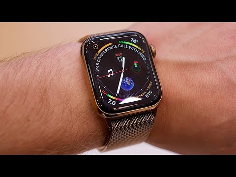 Apple Watch Series 4 hands-on - YouTube