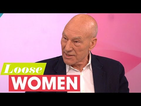 Sir Patrick Stewart Reveals the Domestic Violence He Witnessed as a Child | Loose Women
