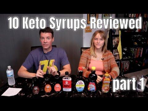 Sugar Free Syrup Showdown / Review Pt 1 - Keto, Low Carb