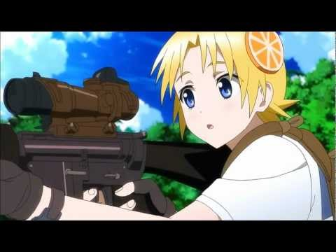 [HD] Upotte!! - M16 Trigger System [English Subs]