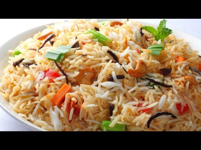 How to Cook Vegetable Biriyani Homemade