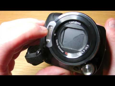 Sony Handycam HDR-SR12 - Quick Overview