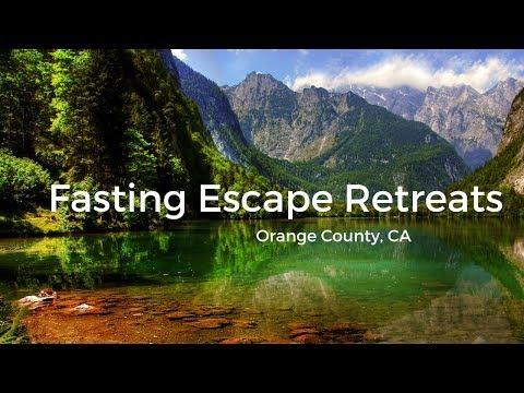 Fasting Escape Retreats in Southern California
