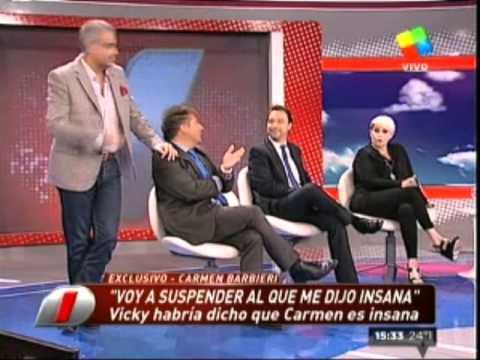 ¡Escándalo! Carmen Barbieri suspendió en vivo a Vicky Xipolitakis