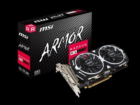 review msi rx 570 4gb armor youtube. Black Bedroom Furniture Sets. Home Design Ideas